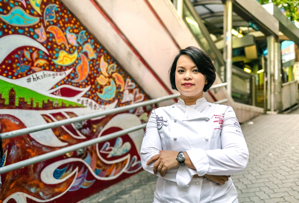 Chef Bee_Thailand_Michelin-chef_Hong Kong Wine & Dine Festival 2018
