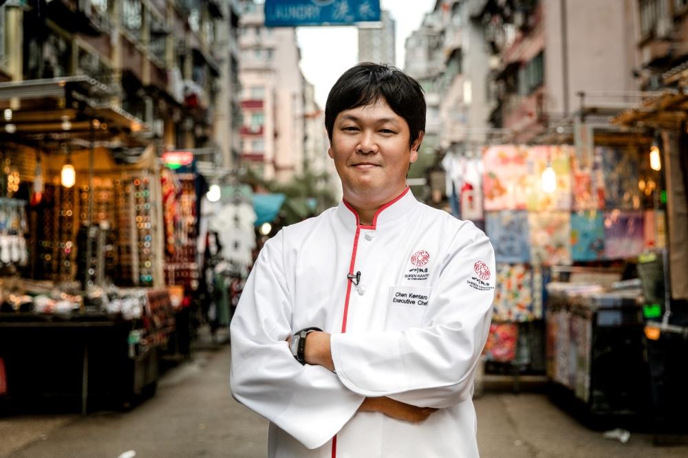 Chef Chen_SingaporeMichelin-chef_Hong Kong Wine & Dine Festival 2018