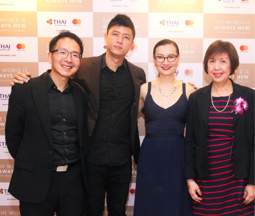 Daniel Chia, Miss Lou, Kim Tan