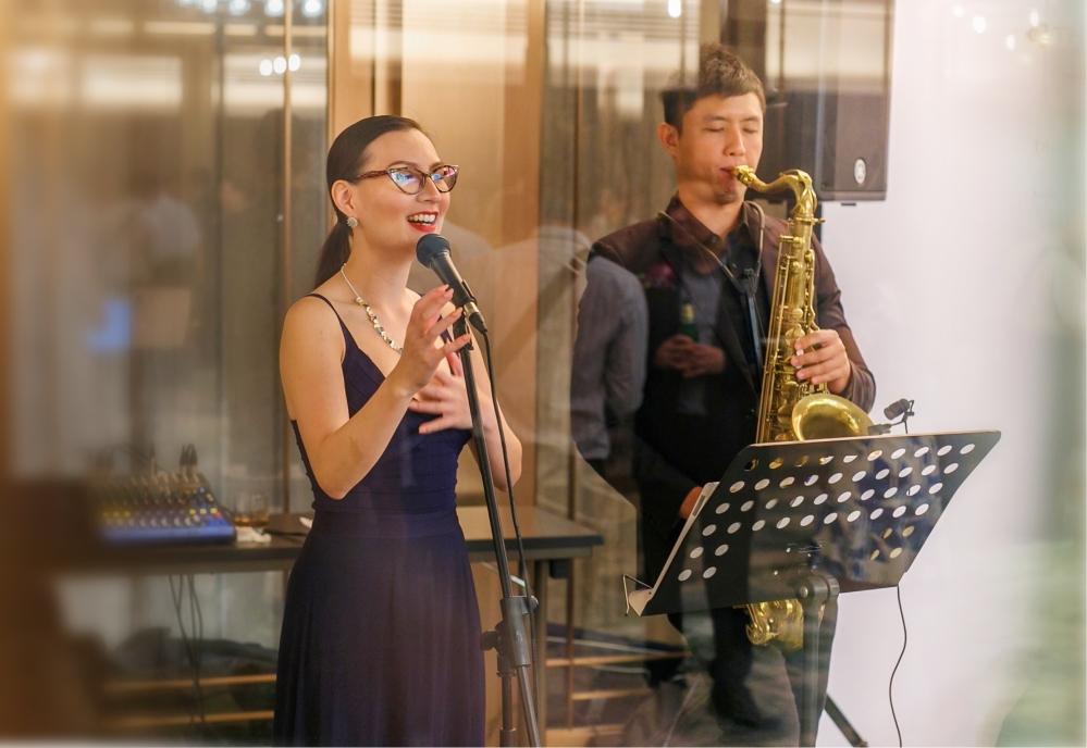 Miss Lou and Daniel Chia